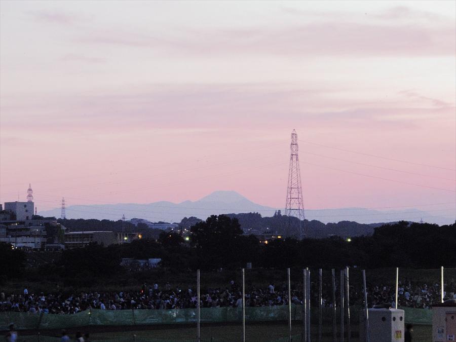 世田谷花火プロローグ02富士山夕景06