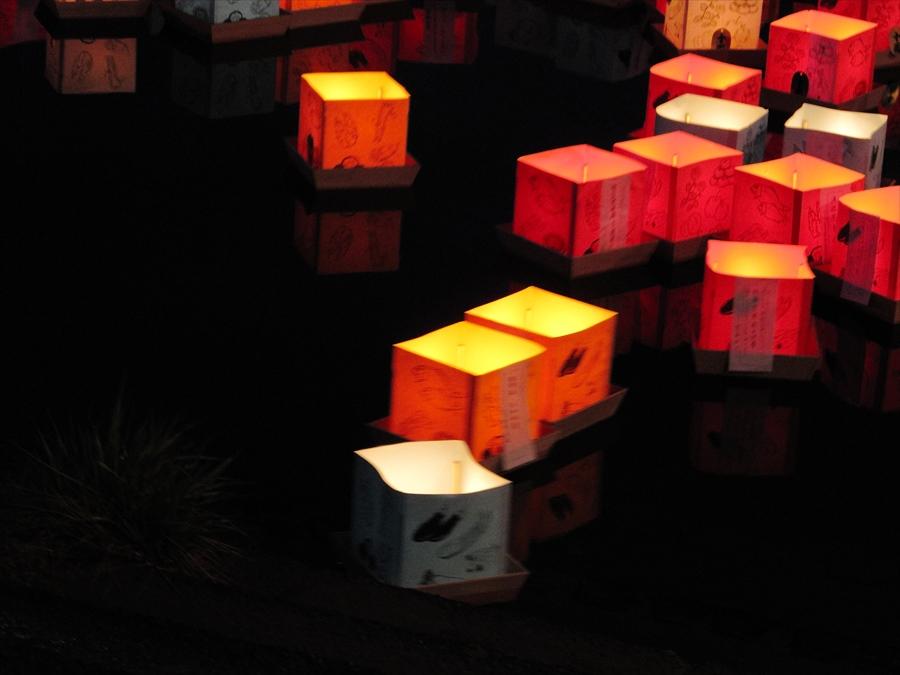 広瀬川灯篭流し03