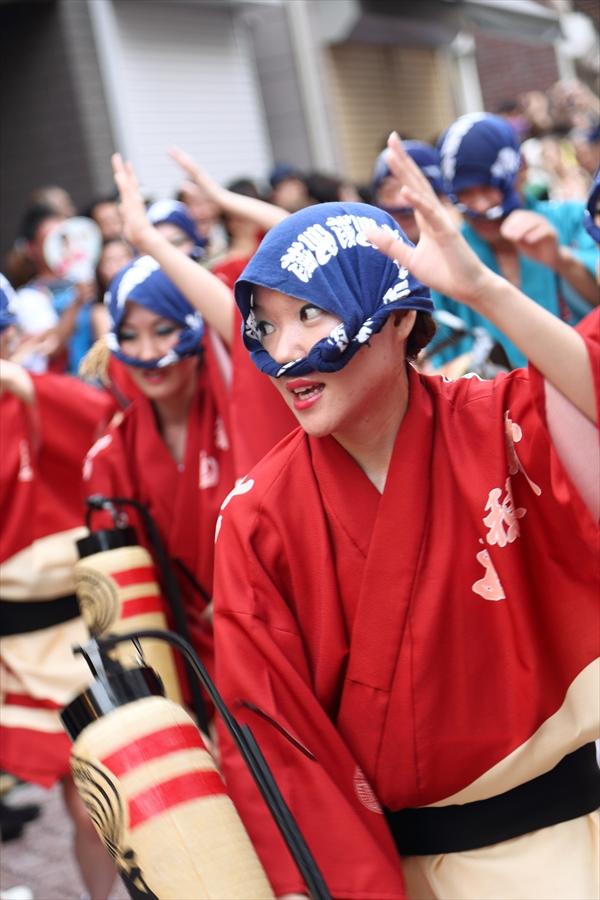 高円寺阿波踊り01男踊り06