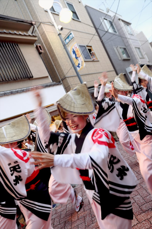 高円寺阿波踊り02天水連01女踊り03