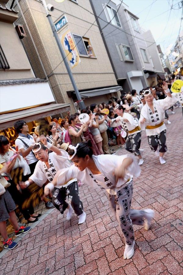 高円寺阿波踊り02天水連01男踊り04