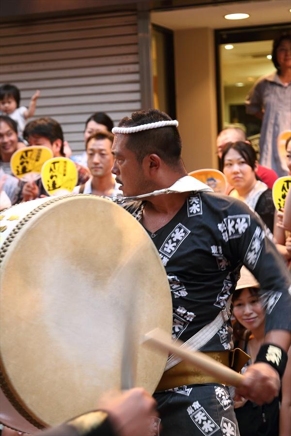 高円寺阿波踊り03天水連02太鼓03
