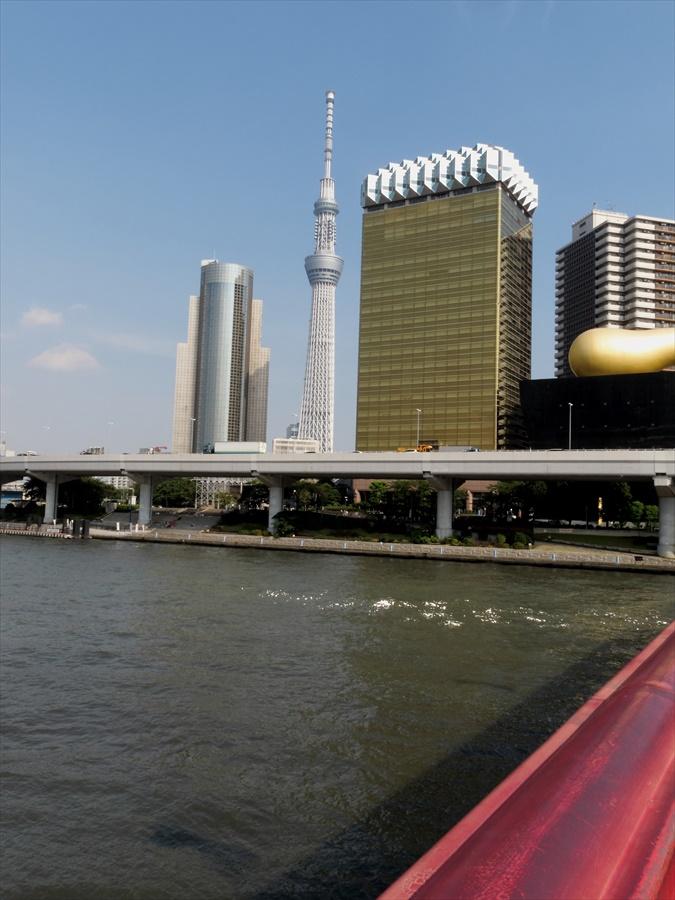 浅草吾妻橋橋のらんから見える風景05