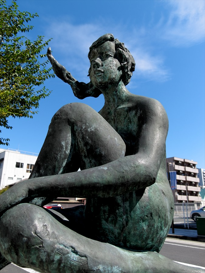 山形市内スナップ彫像02