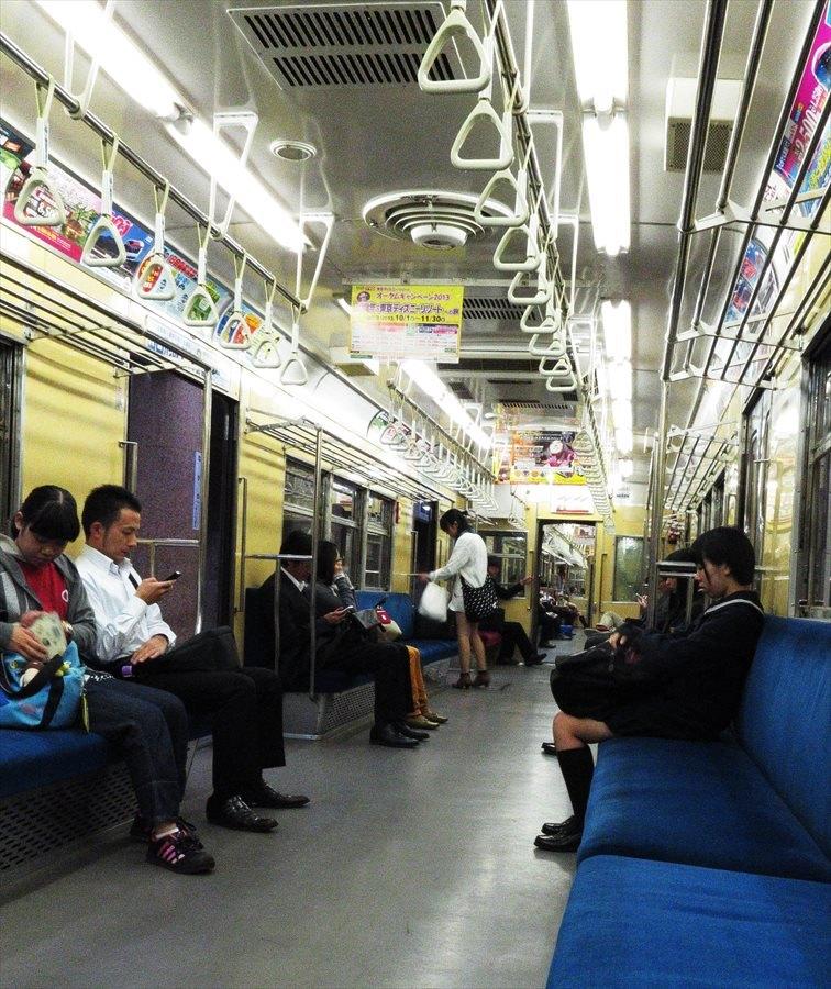 長野電鉄長野駅普通旧営団電車車内03