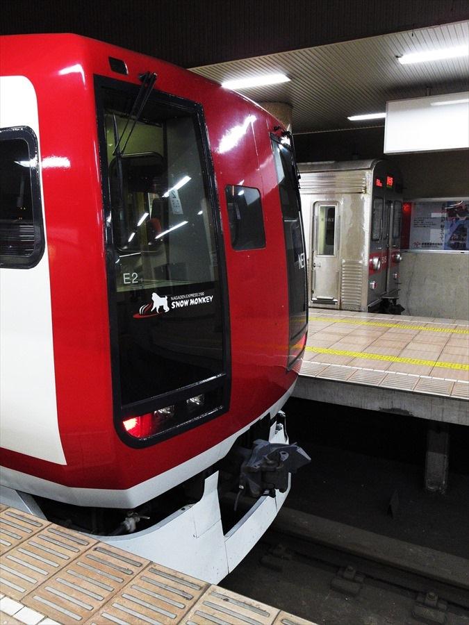 長野電鉄長野駅旧成田と東急06