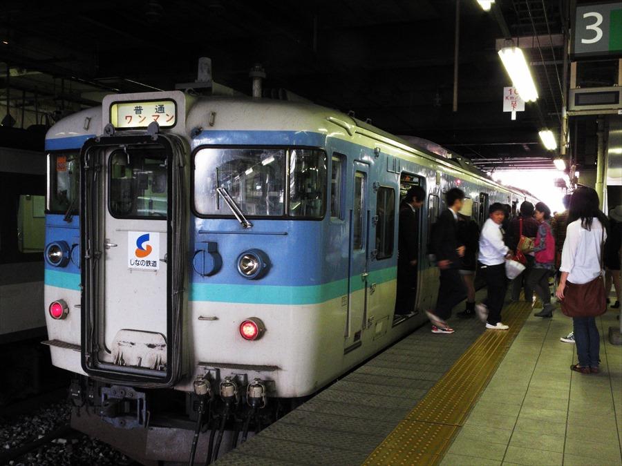 長野駅しなの鉄道旧115系06