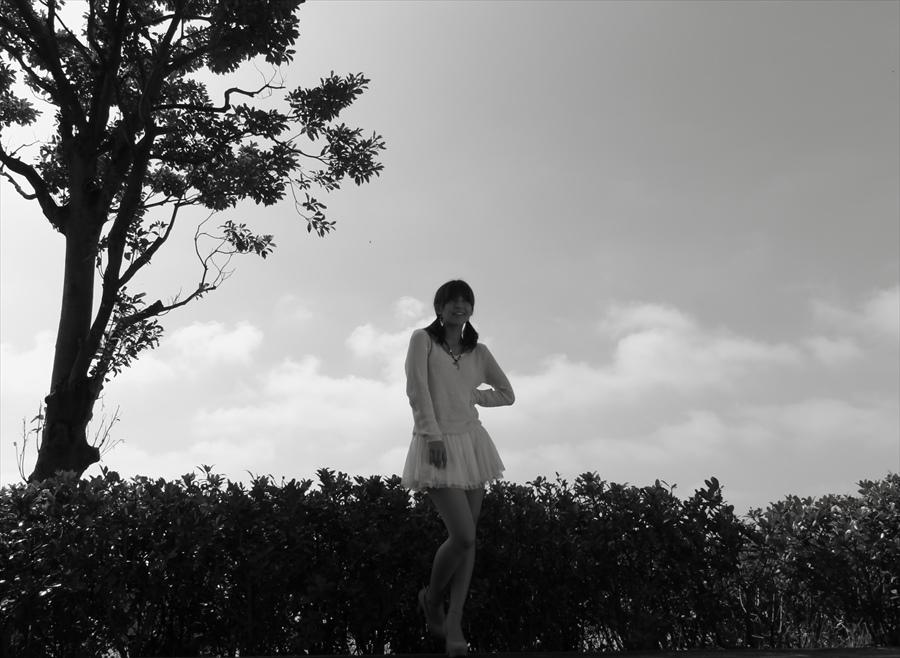 フォトJO桜井ルカその3パわモノクロ02