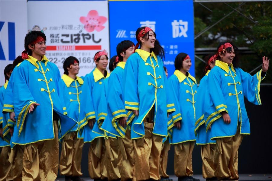 福島学院よさこい01スタート01