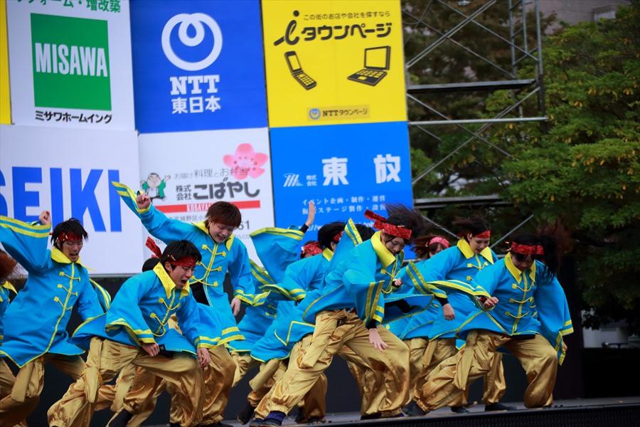 福島学院よさこい01集団きめ06