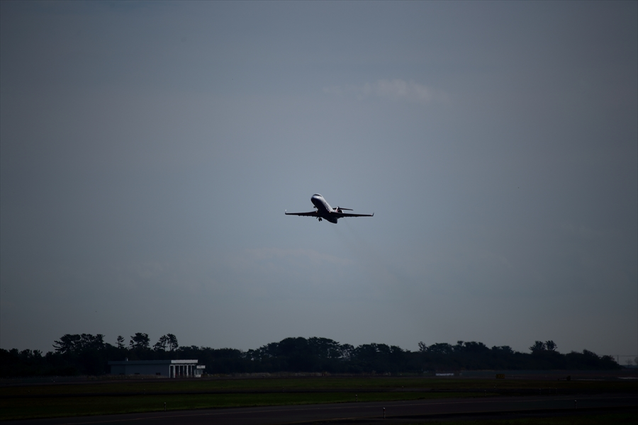 仙台空港撮影IBEX02離陸