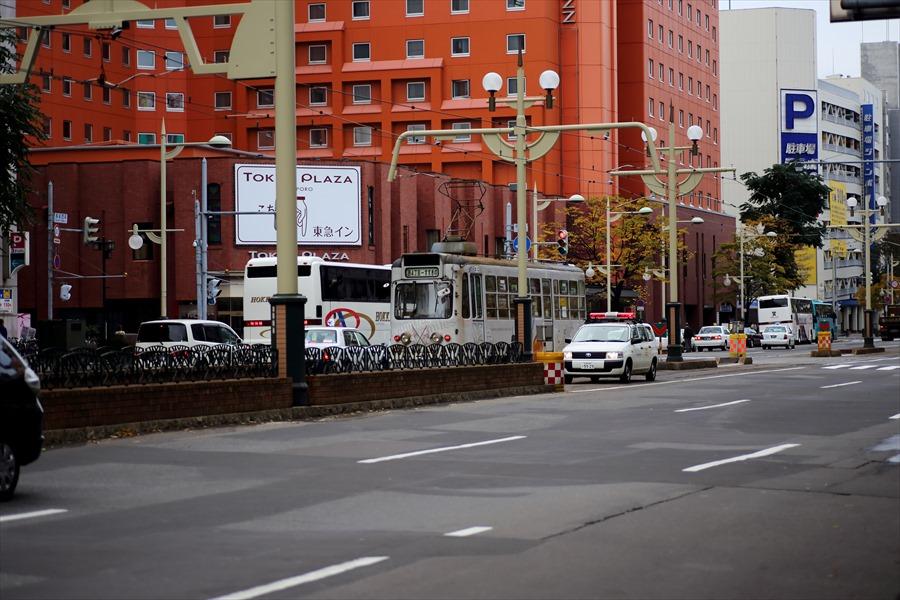 札幌市電と街角06