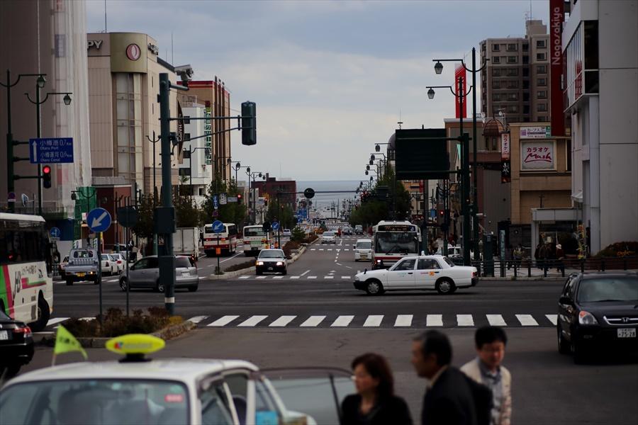 小樽01小樽駅から運河方面01