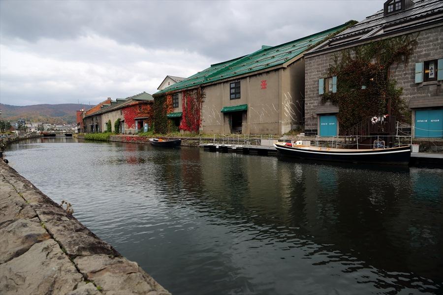 小樽運河02運河デッキから01