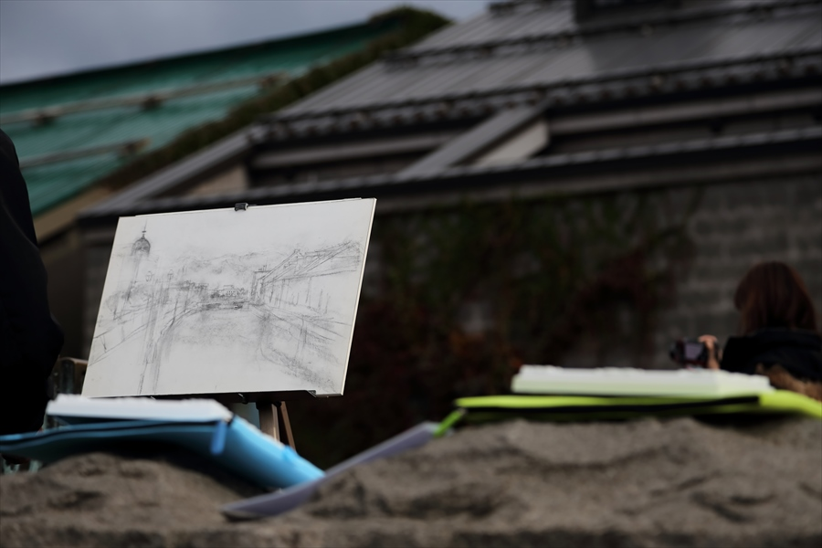 小樽運河02スケッチ03