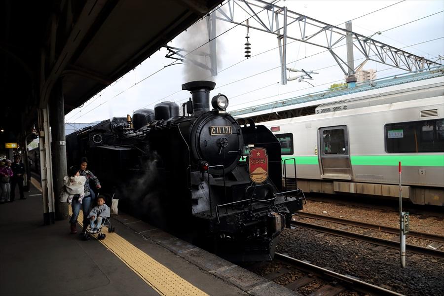 小樽駅SLニセコ01