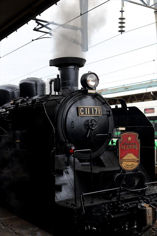 小樽駅SLニセコアップ02
