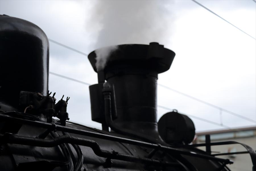 小樽駅SLニセコ煙05