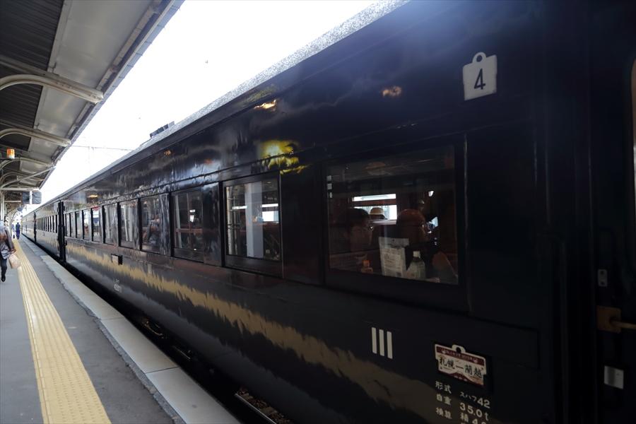 小樽駅SLニセコ客車06