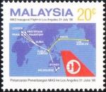 マレーシア・KL=LA線就航