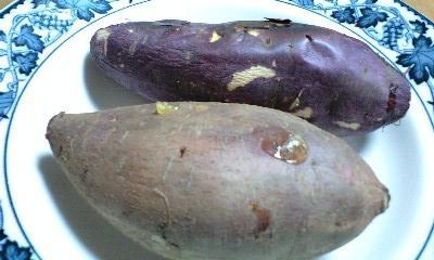 安納芋と薩摩芋