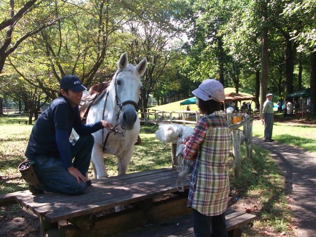 馬とにっこ