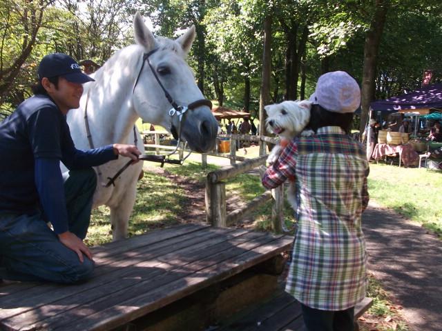 馬とにっこ2