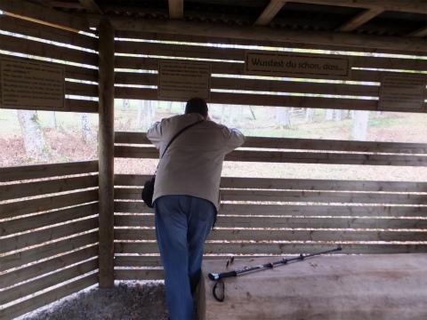 鹿の観察小屋3