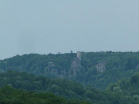 リヒテンシュタイン城への眺め