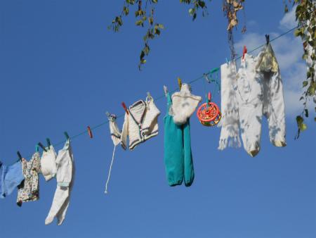 洗濯物?2