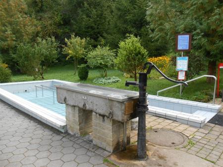 クナイプ冷水浴槽