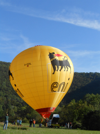 アヴェで気球1