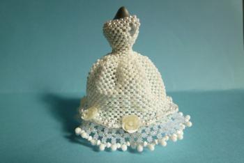 ドレス(白)横向き