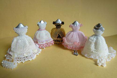 ドレス(5体)