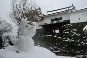 雪だるま&楠門