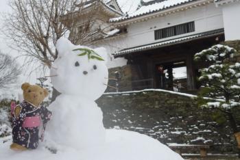 ベァー&雪だるま