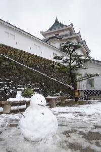 雪だるま&お城