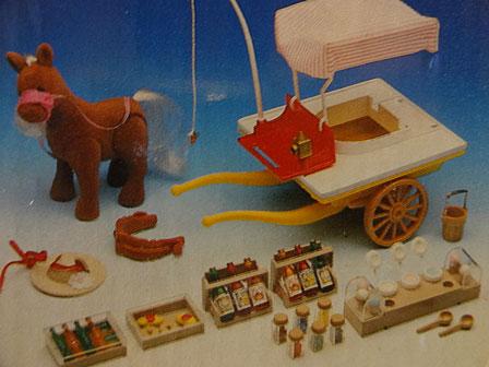 ポニー&アイスクリームカー