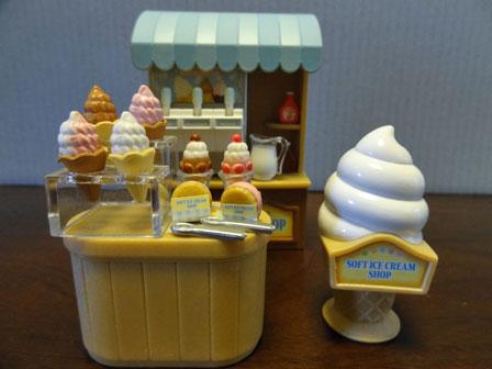 ソフトクリーム屋さん全体