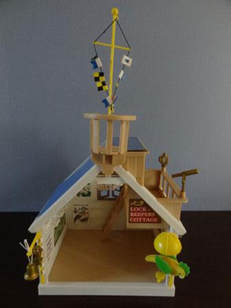 水門管理小屋 全