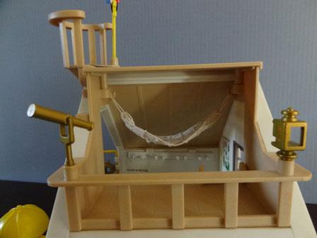 水門管理小屋  望遠鏡