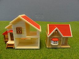 ミニチュアハウス  家2表