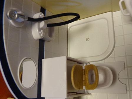 キャラバン トイレ