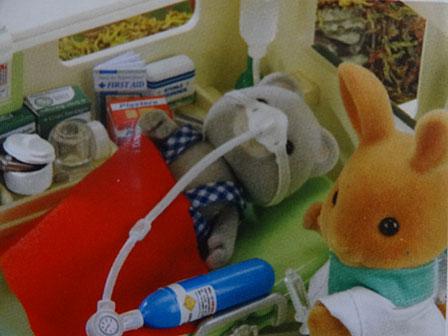救急車 酸素マスク箱