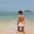 釈由美子水着2