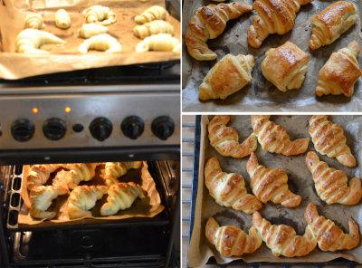 Croissantjes bakken 03