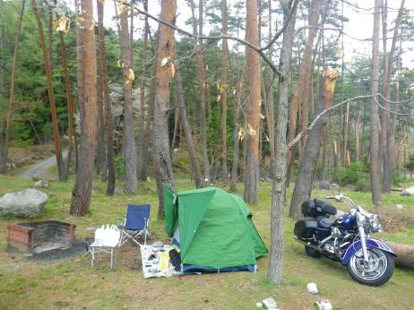 御座松キャンプ場 2013