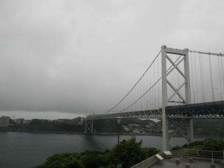 めかりPA 関門橋