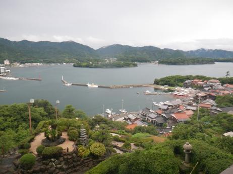 萩観光ホテル 眺め