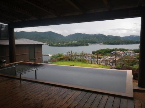 萩観光ホテル 露天